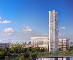 ЖК AFI Tower: визуализация