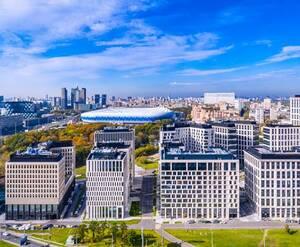 ЖК «ВТБ Арена Парк»: фото готового комплекса