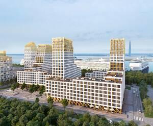 ЖК «Golden City»: визуализация