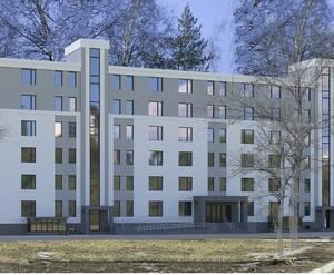 Апарт-отель «Охта for life»: визуализация