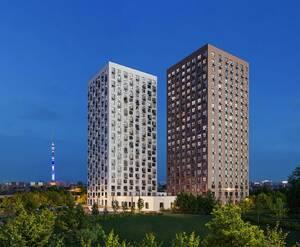 Апарт-отель «Сокольнический Вал 1»: визуализация
