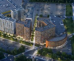 МФК GloraX City Zanevsky: визуализация