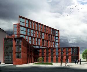 Апарт-отель «Лиговский, 127»:  визуализация