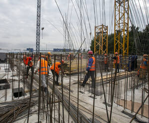 МФК «Перец»: ход строительства