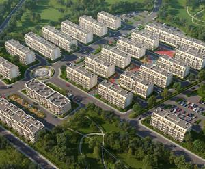 ЖК «Молодежный квартал» (визуализация, текущая версия)