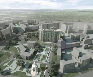 План застройки жилого комплекса «Шушары»