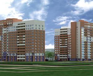 <p>Визуализация проекта жилого комплекса &laquo;Семья&raquo;</p>