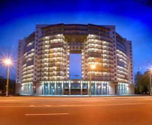 ЖК «Новый город»: общий вид корпуса 1 (08.06.2015)