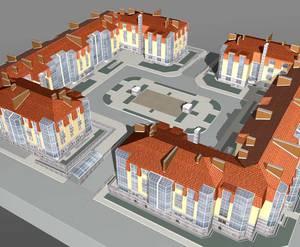 <p>Визуализация проекта жилого комплекса &laquo;Ясный дом&raquo;</p>