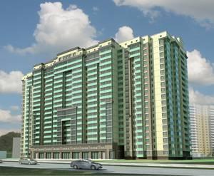Визуализация проекта жилого комплекса «Шушары»