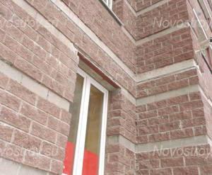 Фасад одного из домов в ЖК «Юбилейный квартал»