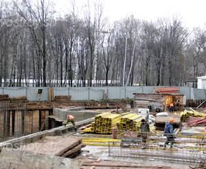Строительство ЖК «Весна» (28.12.12)