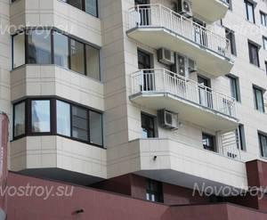 Балконы и лоджии ЖК «Адмирал-3» (30.11.12)