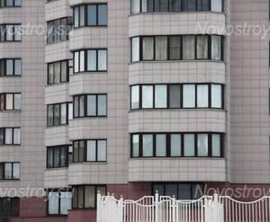 Фасад ЖК «Адмирал-3» (30.11.12)