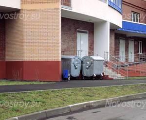 Дворовая территория ЖК «Красногорская Ривьера» (01.10.12)