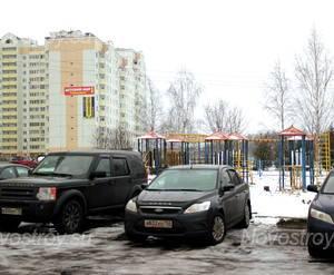 Парковка у ЖК «Молодёжный» (г. Солнечногорск) (11.12.12)