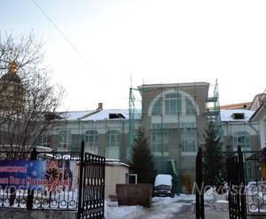 Вход на территорию жилого комплекса  «Кадашевские палаты» (05.12.12)