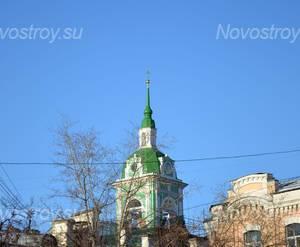 Окрестности жилого комплекса «Овчинниковский» (05.11.12)