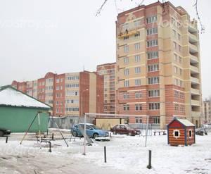 Двор ЖК «Дом в поселке Поварово» (16.12.12)