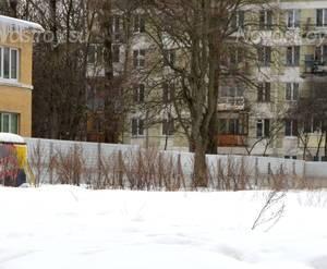 Строительная площадка жилого комплекса «Дом на Алтайской» (24.02.2013)