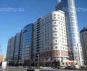 Фасад жилого комплекса «Морская рапсодия» (02.03.2013)