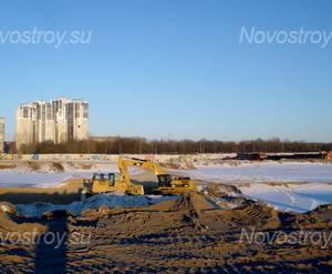 Строительная площадка жилого комплекса «Колумб» (10.03.2013)
