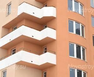 Фасад жилого комплекса «Кассиопея» (18.02.2013)