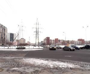Окрестности жилого комплекса «Комендантский квартал» (24.02.2013)