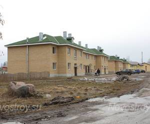 Жилой комплекс «Приозерск-Комфорт» (15.04.13)