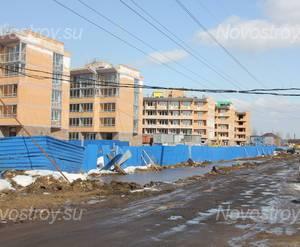 Строительство жилого комплекса во Всеволожске (22.04.2013)