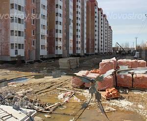 Жилой комплекс «Янинский» (15.04.2013)