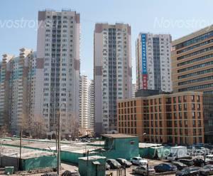 Жилой комплекс в Высоковольтном проезде (23.04.2013)