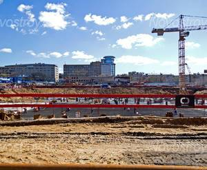 Строительство ЖК «Yappi Town» (10.05.2013)