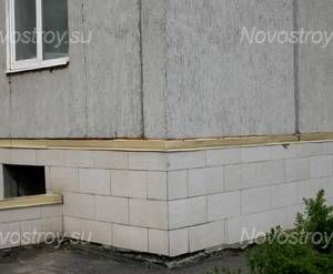Фасад ЖК «Серебряные ручьи» (10.05.2013 г.)