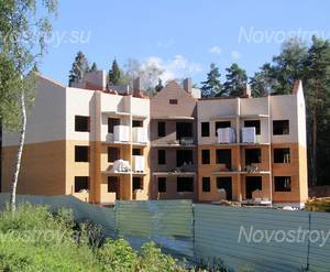 Строительство ЖК «Малое Павлино» (01.08.2013 г.)