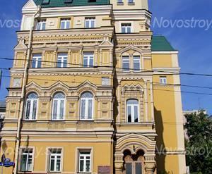 Институт имени Тореза недалеко от ЖК «Остоженка, 37» (10.08.2013 г.)
