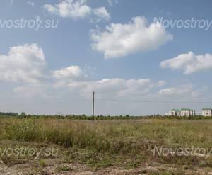 Место строительства ЖК «Новый микрорайон в Пушкине» (август 2013)