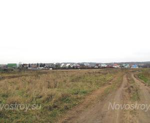 Место под строительство ЖК «Заречный» (31.10.2013 г.)
