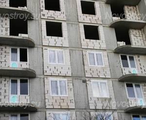 Строительство ЖК «Форпост» (31.10.2013 г.)