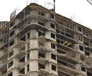 Строительство ЖК «Гармония» (25.12.2013 г.)