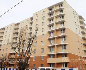 Строительство ЖК «Форпост» (17.01.2014 г.)