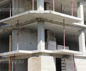 Строительная площадка ЖК «Дом в Сосново» (15.05.2014)