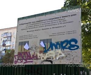 Место строительства ЖК «Спутник» (10.08.2014г.)