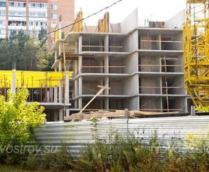 Строительство ЖК «Парковый» (11.08.2014)