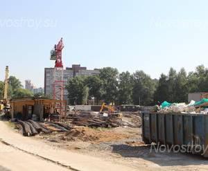 Место строительства ЖК «Александрийский» (09.08.2014)
