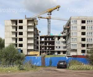 Строительство ЖК «Малое Карлино 2» (15.08.2014)