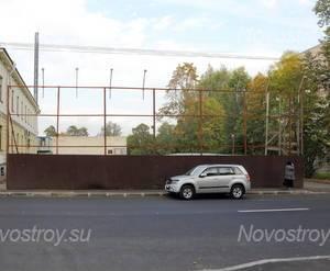 Стройплощадка ЖК «Серебряный век» (15.09.2014)