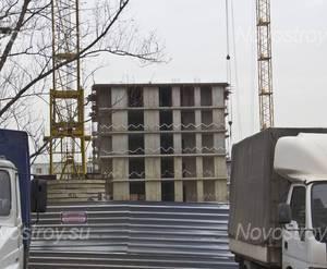 Строительство ЖК «Марьинский» (31.10.2014)