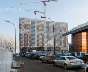 Строительство ЖК «Пулковский 3» (22.11.2014)
