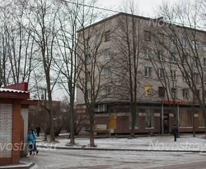 Магазин в районе ЖК «Ладожский берег» (05.12.2014)